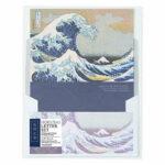 Papier à lettres La Grande Vague de Kanagawa